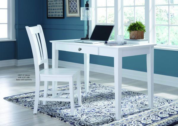 Picture of Of07-41 Student Desk Color: White