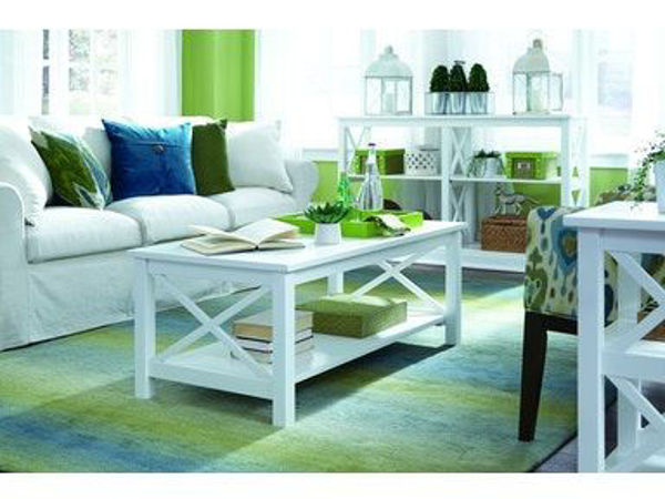 Picture of Ot08-70C Coffee Table Color: White