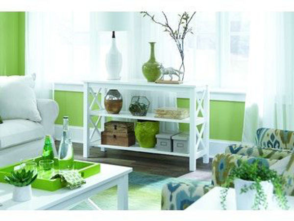 Picture of Ot08-70S Sofa Table Color: White