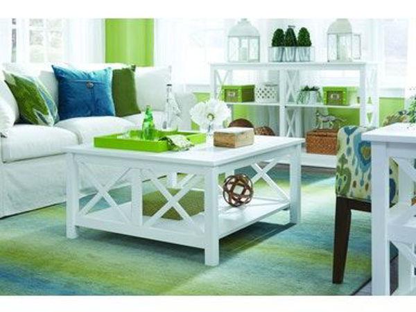 Picture of Ot08-70Sc Square Coffee Table Color: White