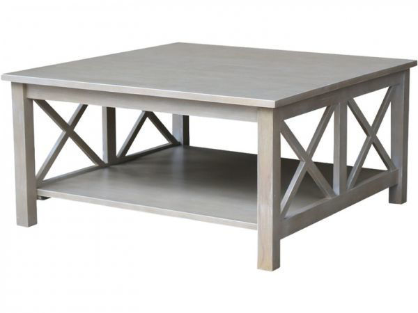 Picture of Ot09-70Sc Square Coffee Table Color: Taupe