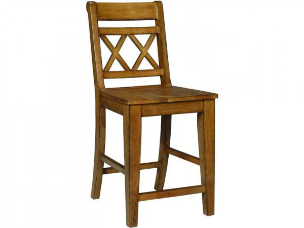 Picture of S59-472 Xx Back Canyon Stool Color:Pecan