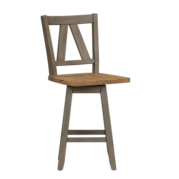 Picture of COUNTER SWIVEL STOOL