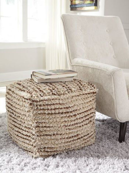 Picture of Pouf/Jorge/Brown/Cream