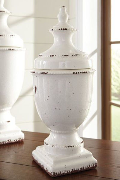 Picture of Jar/Devorit/Antique White