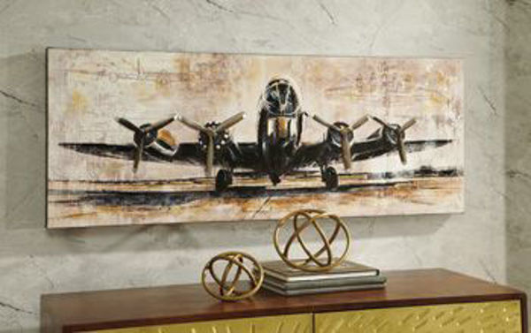 Picture of Wall Art/Kalene/Brown/Black