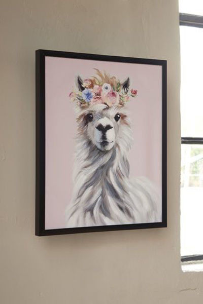 Picture of Wall Art/Josie/Pink/White/Gray