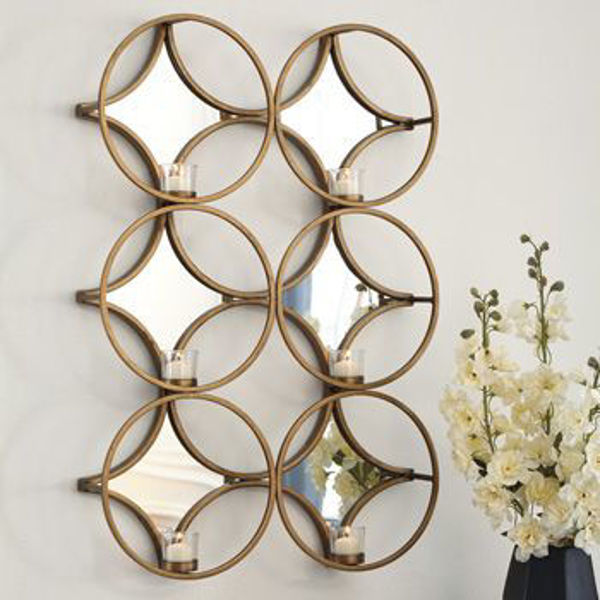 Picture of Wall Sconce/Emilia/Gold Finish