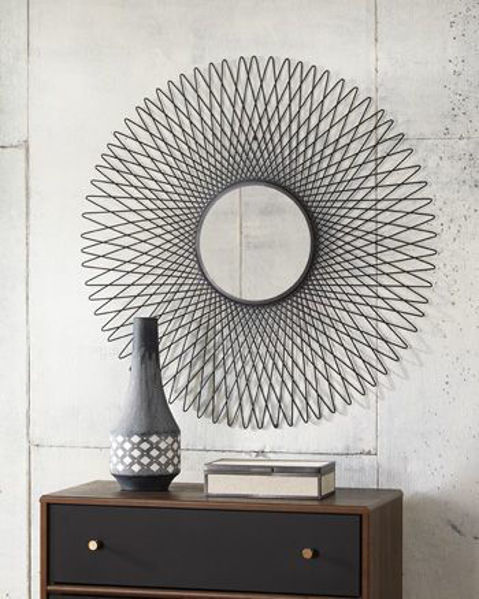 Picture of Accent Mirror/Dooley/Black