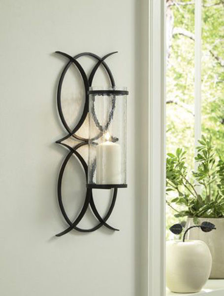 Picture of Wall Sconce/Bryndis/Black