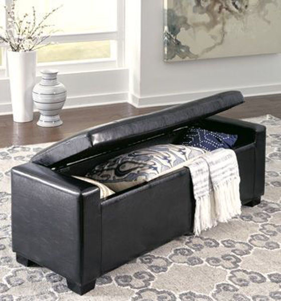 Picture of Upholstered Storage Bench
