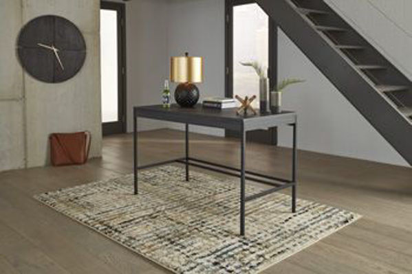Picture of Home Office Desk/Yarlow/Black