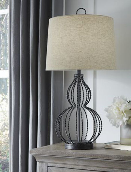 Picture of Metal Table Lamp (1/CN)/Linora