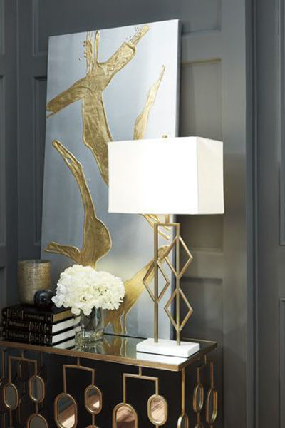 Picture of Metal Table Lamp (1/CN)/Edsel