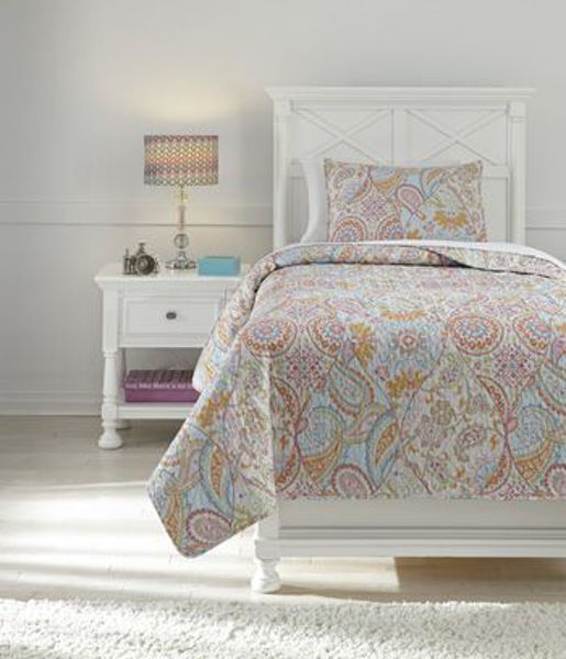 Picture of Twin Coverlet Set/Jessamine