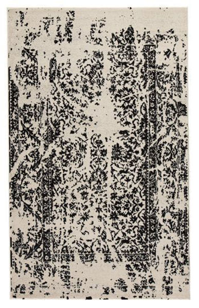 Picture of Large Rug/Jag/Black/White