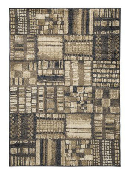 Picture of Large Rug/Hilliard/Black/Brown