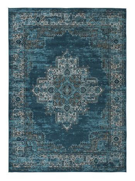 Picture of Large Rug/Moore/Blue/Teal