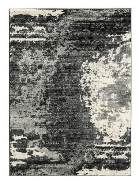Picture of Large Rug/Roskos/Black/Gray