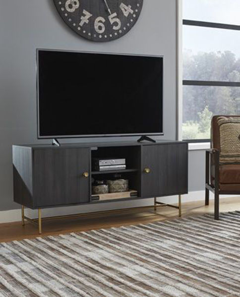 Picture of Large TV Stand/Yarlow/Black