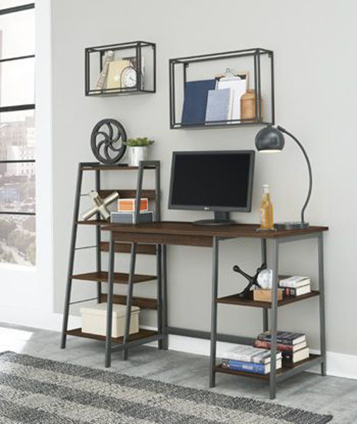 Picture of Home Office Desk and Shelf