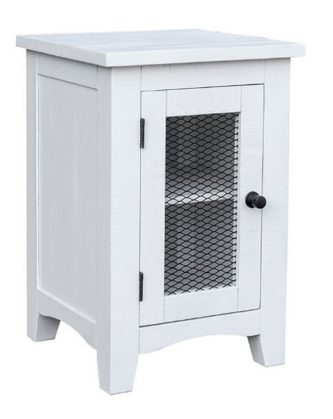 Picture of STOCKTON SMALL END TABLE WHITE
