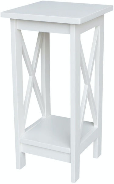 Picture of Ot08-3071X 24Inch Plant Stand Color:White