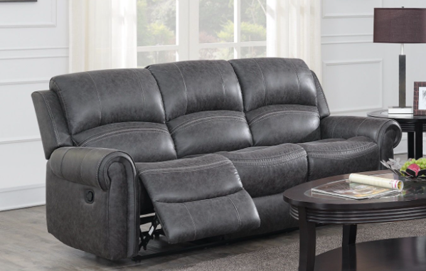 Picture of Gray Dual Reclining Sofa